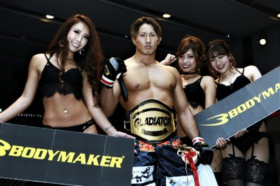 【The Fight Must Go On】All Time Monday Ring Girl Top 5→第4位 GLADIATOR