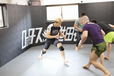 【Road to ONE02】宮田和幸との金網組技戦に挑む田中路教─02─「頭が柔らかくなった、素晴らしい時間」