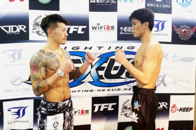 【NEXUS19】フェザー級T1回戦、鈴木淑徳✖駿太戦の試合結果がノーコンテストに変更