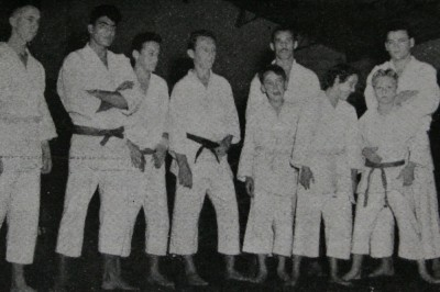 右からカーウソン、エリオ、カーロス、1人おいてジョアォン・アルベウト・バヘット