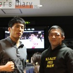 【Fighter's Diary con on that day】「試合がない日々」を生きる堀口恭司の声 on 2013年10月31日