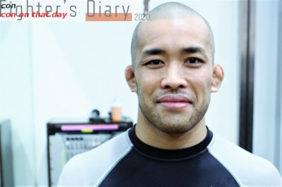 【Fighter's Diary con on that day】「試合がない日々」を生きる田村一聖の声 on 2012年2月22日
