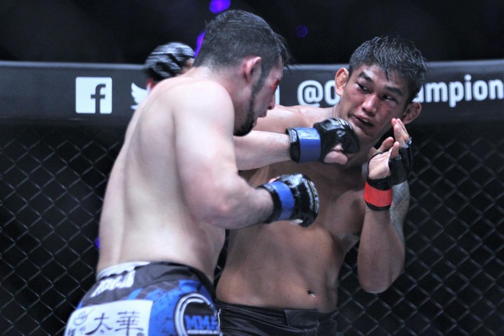 N Sang vs Ken Hasegawa