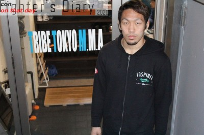 【Fighter's Diary con on that day】「試合がない日々」を生きる佐藤天の声 on 2015年3月10日