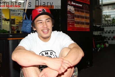 【Fighter's Diary con on that day】「試合がない日々」を生きる矢地祐介の声 on 2013年7月24日