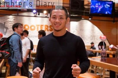 【Fighter's Diary con on that day】「試合がない日々」を生きる若松佑弥の声 on 2017年10月8日
