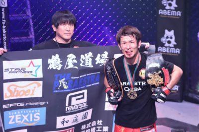 【Shooto2020#03】岡田、KO勝利で暫定世界王座&環太平洋王座の二冠達成!「俺は修斗を愛しています」
