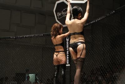 【Monday Ring Girl】Gladiator × Demolition01