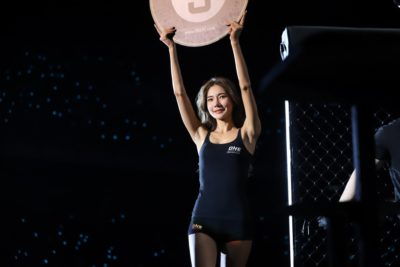 【Monday Ring Girl】ONE105「Mark of Greatness」