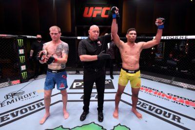 【UFC250】エヴァン・ダナムをRNCで破り、UFC2連勝=エウベウチ・バーンズ「兄弟で歴史を創る」