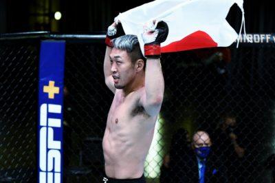 【UFC ESPN12】大勝、佐藤天に48秒を中身を尋ねる─01─「理解し、臨機応変に動けた」