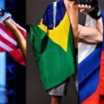 【UFC】ファイトアイランド4連戦のカード発表!! 王国ブラジル✖大国アメリカ✖帝国ロシア、がっぷり四つ