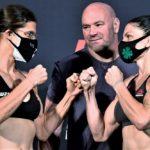 【UFC ESPN11】計量終了 ロクサンはしっかりとパス。クレイ・グィダがマスクをずらして動き回る