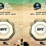 【UFC251】とうとうUFCファイトアイランドが発進!! 7月12日から2週間で4大会 in アブダビ・ヤス島