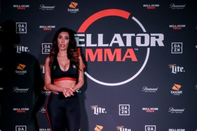 【Monday Ring Girl】Bellator229「Koreshukov vs Larkin」