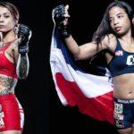 【Combate Americas60】コンバッテ・アメリカ再開大会のセミで、ヤネス✖アダメスの女子マッチ