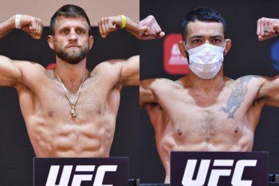 【UFC ESPN13】計量終了 ファイトアイランド第2弾のメインはトップ5入りを賭けてケイター✖イゲ