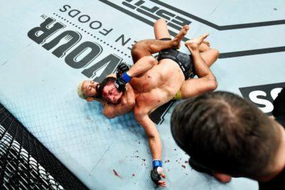 【UFN172】新UFC世界フライ級チャンピオ、フィゲイレド「ベナビデスは前の試合より遅くなっていた」