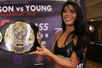 【Monday Ring Girl】Invicta FC36「Sorenson vs Young」