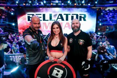 【Monday Ring Girl】Bellator230「Manhoef vs Bhati」& Bellator ES05「Milan」