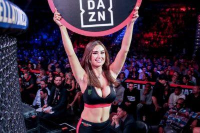 【Monday Ring Girl】Bellator232「MacDonald vs Lima2」
