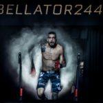 【Bellator244】アッパーからの連打、ヒジでカットさせたアモソフがキャリア24連勝達成!!