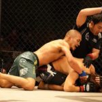【Shooto2020#05】左を当ててダウンを奪った安藤が田丸をパウンドアウト=新環太平洋バンタム級王者に