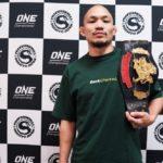 【Shooto2020#05】新環太平洋バンタム級チャンピオン、安藤達也「Road to ONEに出たいッス!!」