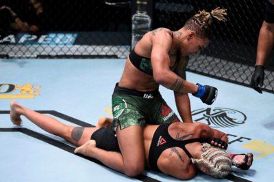【UFC ESPN15】アグレッシブが過ぎ、粗くなったアガポワがスタミナロスしドブソンのパウンドに敗れる