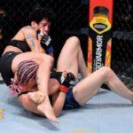 【UFC252】女デミアン・マイア、TD→マウント奪取→ワンパンチ&腕十字でヘリッグを一蹴