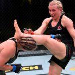【UFN174】壁MMA。ストレアレンコをクリンチで押し込み、ダーティーボクシングでクニツカヤが勝利