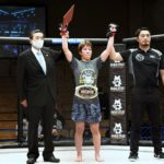 【Shooto2020#05】初代修斗女子スーパーアトム級王者は、大健闘の杉本を振り切った黒部三奈に!!