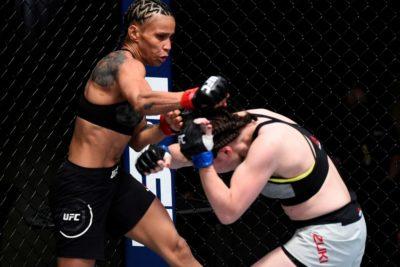 【UFC ESPN15】初回にダウンを喫した魅津希、クリンチゲームでレモスを崩せず悔しい判定負け