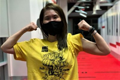 【UFC ESPN15】オクタゴン、2勝目へ。魅津希「野蛮な心──野獣の勘で判断しようと思います」