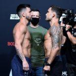【UFC ESPN15】計量終了 魅津希問題なしっ!! ストリーグルの代役はグアムのトレヴィン・ジョーンズ