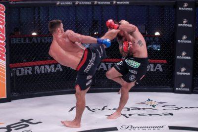 【Bellator244】見事過ぎる右ハイから、パウンドの猛攻でベイダー下したネムコフが新ライトヘビー級王者に
