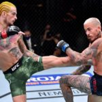 【UFC252】ショーン・オマリー、右足首を負傷?! マルロン・ヴェラがエルボー&鉄槌で勝利