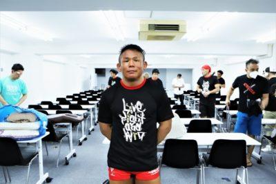 【iSMOS01】終了直後、控室で北岡悟が話したこと。「戦う準備はしないといけないし…したいですよね」