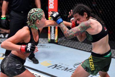 【UFC252】これで27-30まで出るのか……突き放し適格に攻撃入れたヨーダが、ソウザに判定負け……