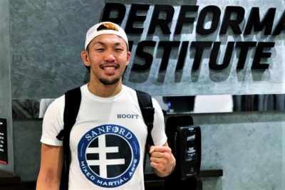 【UFC ESPN15】ロドリゲス戦で、UFC連勝を狙う佐藤天─01─「頭を使って、器用なところもあります」