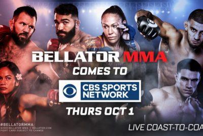 【Bellator】ベラトールが10月にフランス初となるMMA大会をパリで開催。中継局がCBS SNへ