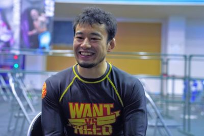 【Battle Hazard07】コンバット柔術で勝利、寒河江寿泰「『ゴメンなさい』って気持ちで叩いていました」
