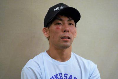【Road to ONE03】猿田洋祐が話していたこと「まだまだストロー級は2人で引っ張っていきたい」