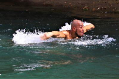 【Road to ONE03】カルンダと対戦、手塚裕之の大自然トレに密着─01─「逆流バタフライ、トビウオ」