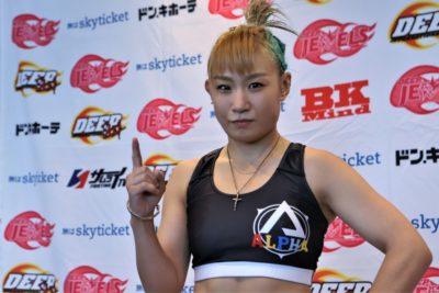 【DEEP JEWELS30】青野ヒカルと現役最後の戦い、前澤智─02─「最後の試合で小娘に教えてやります」