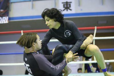 【Battle Hazard08】足関節を狙いつつ、ポジションを取り、腕も狙う杉内由紀が坂元を破りGTF女子優勝
