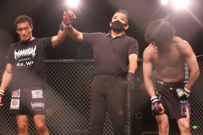 【Grachan46】植田豊が藤村健悟のスイングする回転体MMAを許さず、しっかりと動きを止めて判定勝ち