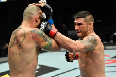 【UFC ESPN20】蹴りは多くても、拳に圧力なし。マムーチがビジャヌエバの右フックにKO負け