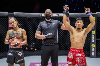 【ONE116】川原波輝、リト・アディワンの左で一発KO負け。柔軟性と対応力見せられず──完敗