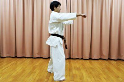 【Bu et Sports de combat】武術で勝つ。型の分解、サンチン編─09─「タメ、捻り、反動がない突き」